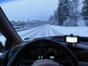 Snowy driving for days...