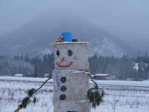 Straw man. Somewhere in Montana.